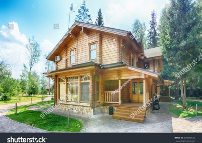 stock-photo-russia-moscow-region-wooden-house-in-the-cottage-520936534